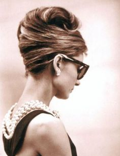 Audrey Hepburn in Breakfast at Tiffany's...need i say more