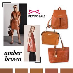 Amber brown is season's new black! Combined with navy or nude tones gives a chic touch to your style. Fashion Story, Spring Summer 2016, Color Palettes, Amber, Your Style, Nude, Touch, Elegant, Chic