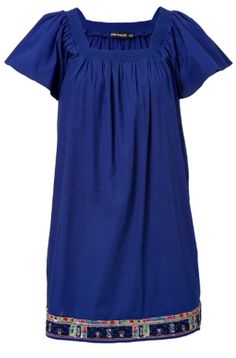 Antik Batik ++ I cannot get enough of this blue this season!