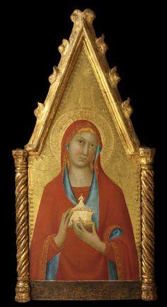 Mary Magdalene Lippo Memmi Italian, Active 1317- ca. 1350 Mary Magdalene, ca. 1330 Tempera and gold on panel 21.250