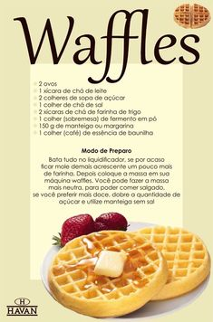 Waffles, Vegetarian Recipes, Cooking Recipes, Good Food, Yummy Food, Diy Food, Food Hacks, Sweet Recipes, Food Porn