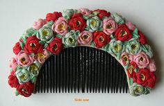 Vintage Japanese Hanagushi Kushi Kanzashi Comb Geisha Hair Ornament Beauty | eBay