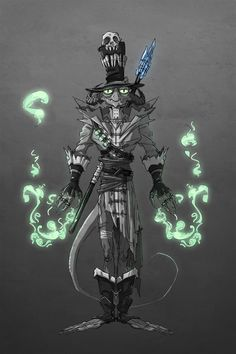 Zardia the dark mage, Svetlana Reutova on ArtStation at https://www.artstation.com/artwork/B61w9