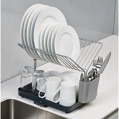 Buy Joseph Joseph Y-Rack 2 Tier Self Draining Dish Rack Online at johnlewis.com