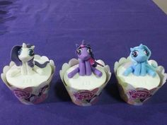 My Little Pony Cupcakes My Little Pony Cupcakes, Girl Cupcakes, Birthday, Desserts, Food, Tailgate Desserts, Birthdays, Deserts, Essen
