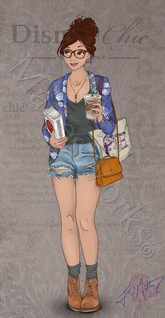 Chic Belle by MattesWorks.deviantart.com on @DeviantArt
