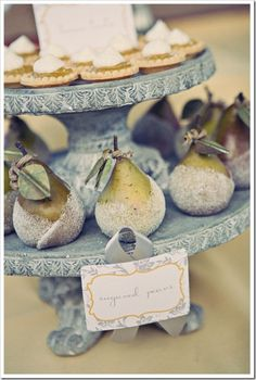 sugared pears - Google Search