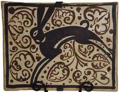 Soccarat Medieval Tile showing a rabbit