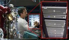 Iron Man Uses Dell Servers