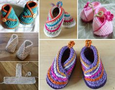 Crochet Baby Shoes Crochet Kimono Baby Shoes Video Tutorial - You will love these Crochet Kimono Baby Shoes and we have included a video tutorial to show you how to make them. Check them all out now. Crochet Girls, Crochet Bebe, Crochet Baby Booties, Crochet Slippers, Baby Shoes Pattern, Shoe Pattern, Kimono Pattern, Crochet Baby Blanket Beginner, Baby Knitting