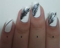 Paint Them All: Feather Nail Art + Tutorial!