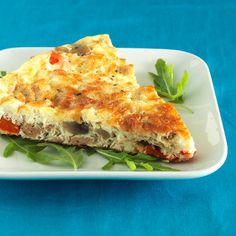 Pizza Frittata - Clean Eating - Clean Eating