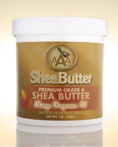 Unrefined Certified Grade A Shea Butter with a Hint of Organic Lemongrass Essential Oil 16 oz. By AAA Shea Butter All Natural Vitamins, Sunburn Remedies, Moisturizer For Oily Skin, Lemongrass Essential Oil, Skin Rash, Oils For Skin, Skin Treatments, Healthy Skin, Sunburn Skin