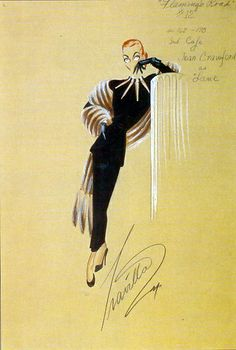 New Fashion Ilustration Vintage Hollywood Glamour Joan Crawford 19 Ideas Costume Design Sketch, Sketch Design, Joan Crawford, Vintage Hollywood, Hollywood Glamour, Fashion Art, Vintage Fashion, Film Fashion, Trendy Fashion