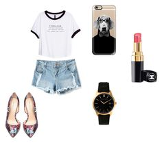 rer by marina-lage on Polyvore featuring moda, H&M, Bebe, Larsson & Jennings, Casetify and Chanel