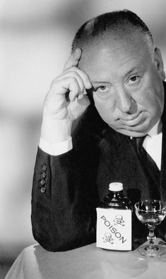 For a man who was largely behind the camera, Alfred Hitchcock was and is extraordinarily and instantly recognizable. Alfred Hitchcock Hour, Hitchcock Film, Alfred Hitchcock Quotes, Famous Directors, Really Good Movies, Film Blade Runner, London Film Festival, Indie Movies, Stanley Kubrick