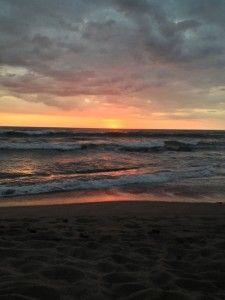 New Year's Sunset in Santa Teresa at Latitude 10 Resort | Santa Teresa Hotel Latitude 10 Resort Blog
