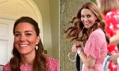 Kate Middleton wows fans with L.Bennett dress from memorable outing with Meghan Markle Duchess Kate, Duke And Duchess, Duchess Of Cambridge, Prince William And Kate, William Kate, Royal Look, Royal Style, Awesome Kate, Lk Bennett Dress