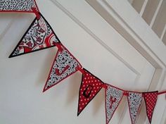 Traditional Bunting, In The Hoop - 2 Sizes! | In the Hoop | Machine Embroidery Designs | SWAKembroidery.com