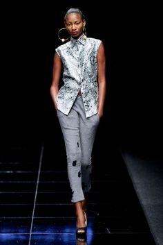 Thula Sindi @ Mercedes Benz Fashion Week 2013 - Cape Town, South Africa