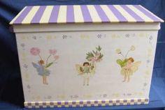 Children's Painted Toybox