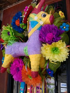 FIESTA Wreath - No Shipping Charge for pick up in San Antonio, TX. $100.00, via Etsy.