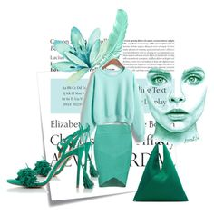 """And now mint, please!"" by divatmalom on Polyvore featuring Mode, Post-It, Tiffany & Co., Posh Girl, Aquazzura, MM6 Maison Margiela, fashionista, fashionblogger, fashiontrend und fashionset"