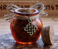 ANCIENT AMBER PATCHOULI Rich Resin Gemstone by ArtisanWitchcrafts