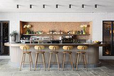 Buena Vista Hotel in Mosman, Australia / SJB Interiors & Tess Regan Design Design Café, Design Studio, Cafe Design, Milan Design, Design Room, Modern Design, Design Ideas, Cafe Bar, Cafe Restaurant