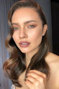 53 Elegant Natural Smoky Eyeshadow Makeup Ideas for Fall Party fashion # … – Beauty Make up Styles Glam Makeup, Makeup Inspo, Bridal Makeup, Wedding Makeup, Makeup Inspiration, Hair Makeup, Makeup Ideas, Makeup Light, Makeup Tips
