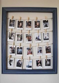 Clothesline+Photo+Frames MK ROOM