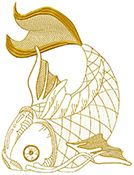 Fantastic Machine Embroidery Designs for all styles of machines Free Machine Embroidery Designs, Hand Embroidery, Julie Hall, Koi Fish Designs, Hall Design, Janome, Free Design, Quilts, Sewing