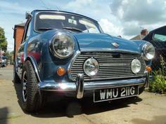 1968 Mk2 Morris Cooper S...classic mini benelite grille