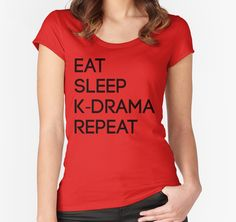 Korean Drama Cycle | Women's Fitted Scoop T-Shirt