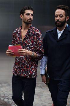 On the Street….At Prada, Milan