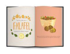 Exotic Eats by Lauren Hom, via Behance
