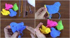 Crochet Cute Little Birds Step By Step