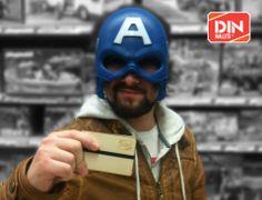 """A DIN WALLETS é a linha de carteiras que promete acabar com o """"Síndrome do Cartão Partido"""". Visita a nossa loja online em: dinwallets.com/"""