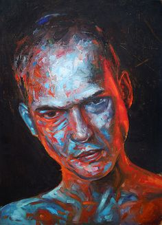 "Italian  Artist Alessio Radice; Painting, ""Ruiner"" #art"