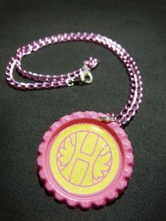 Panty and Stocking Anime Heaven Coin Necklace - Available in Multiple Colored Chains - $10.00