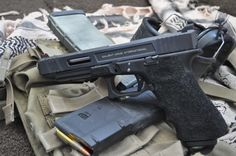 Salient Arms Glock 34 Loading that magazine is a pain! Speed up and simplify the pistol loading process, Save those thumbs & bucks w/ free shipping,http://www.amazon.com/shops/raeind No more leaving the last round out because it is too hard to get in. And you will load them faster and easier, to maximize your shooting enjoyment.