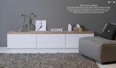 Nieuw in de byHouse collectie! Serie Match is vervaardigd uit een mdf kast gecombineerd met een eiken onbewerkt bovenblad. http://www.houseofmayflower.nl/match-tv-dressoir