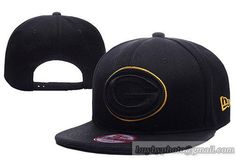Green Bay Packers 9Fifty Snapback Hats Black