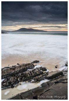 The hidden little beach on the Isle of Harris, Scotland