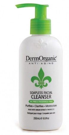 DermOrganic Soapless Facial Cleanser Review