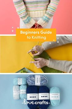 New to knitting? Discover our guide packed full of everything you need to get started! | Learn with LoveCrafts.com