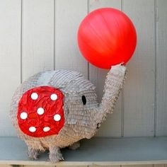 too, too cute elephant pinata Elephant Party, Elephant Birthday, Circus Birthday, Circus Party, Birthday Pinata, Party Deco, Elephant Images, First Birthday Parties, 2nd Birthday