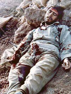 A man who died in the Iran-Iraq war