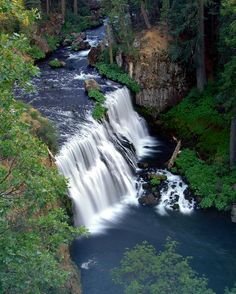 middle mcCloud falls ca. /   shasta national forest - north