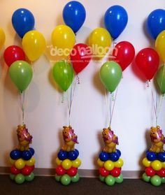 Winnie the Pooh Balloon Decorations